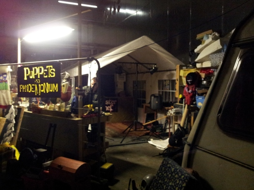 In the Workshop of Puppets and Pandemonium