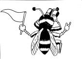 Bee with Binoculars