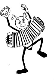 Accordion Playing Bee