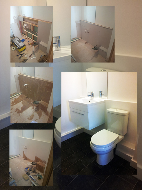 Installing Box Section and Loo